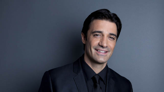 """This Dec. 4, 2012 photo shows French actor Gilles Marini in New York. Marini stars in the ABC Family series, """"Switched at Birth."""" (Photo by Amy Sussman/Invision/AP)"""