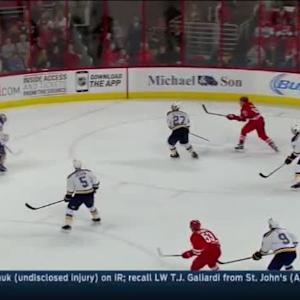 Jake Allen Save on Justin Faulk (16:33/3rd)