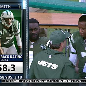 Week 17: New York Jets quarterback Geno Smith highlights