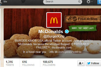 Burger King Twitter Hack Is Deliciously Hilarious