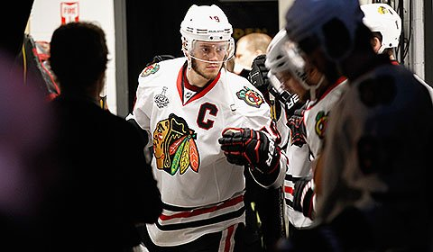 Chicago Blackhawks captain Jonathan Toews