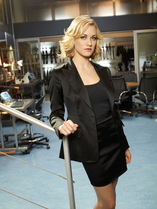 "Yvonne Strahovski returns as Sarah Walker on ""Chuck"""