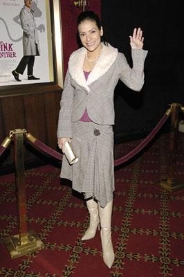 Constance Marie at the New York premiere of MGM/Columbia Pictures' The Pink Panther