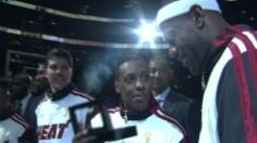 Heat Players Get Their Rings