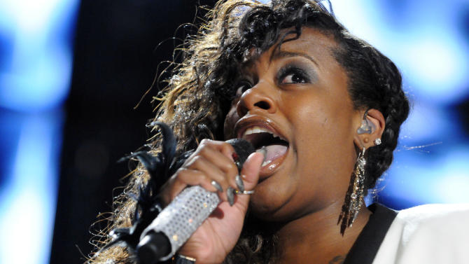 Fantasia performs at the Essence Music Festival in New Orleans on Sunday, July 8, 2012. (Photo by Cheryl Gerber/Invision/AP)