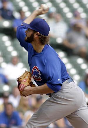 Cubs beat Brewers 5-1, stop 5-game losing streak