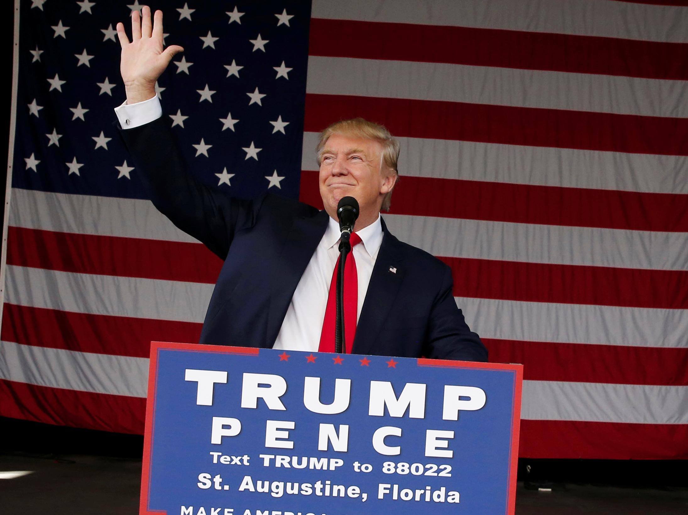 Donald Trump just got some of his best polling news in weeks