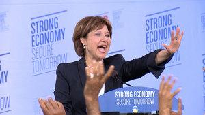 B.C. Liberal Leader Christy Clark is expected to speak to reporters on Thursday.