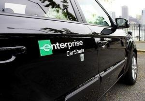 Enterprise Brand Entering Retail Car-Sharing Market