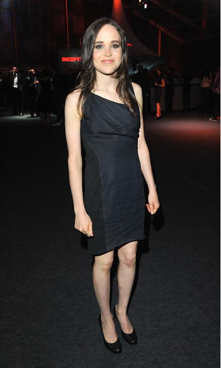 Ellen Page in (another) black dress