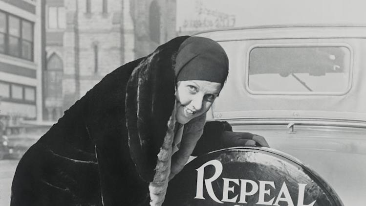 "Women spurred the early temperance campaigns but eventually led the movement to end Prohibition, after its failures became obvious. A ""Crusader"" poses in 1930 as seen on ""Prohibition."""
