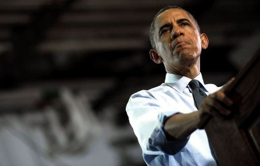 US President Barack Obama delivers remarks during a campaign event in Denver, Colorado. Obama aggravated a culture war battle over contraception as he wooed women voters