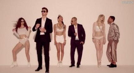 """Blurred Lines,"" Robin Thicke"