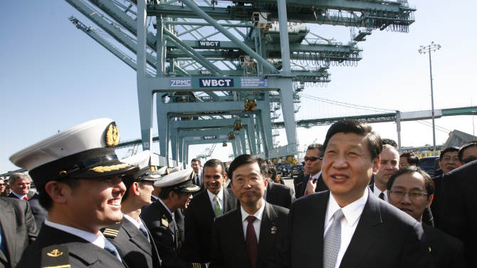 Chinese leader wrapping up US visit in LA