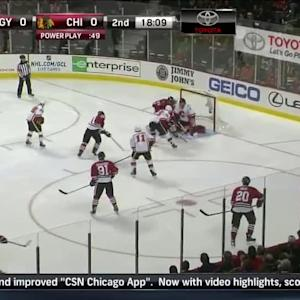 Calgary Flames at Chicago Blackhawks - 10/15/2014