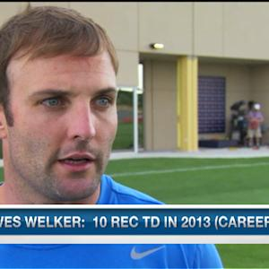 Denver Broncos wide receiver Wes Welker: 'I love the additions we've made'
