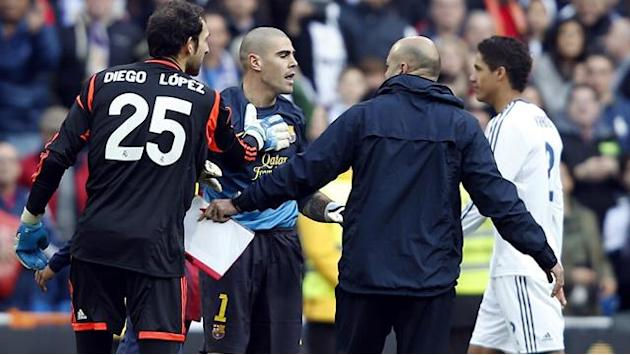 Liga - Barcelona to appeal Valdes four-match ban