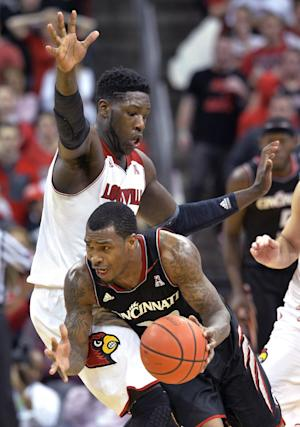 No. 13 Cincinnati edges No. 12 Louisville 69-66