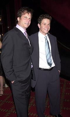 Bill Paxton and Mark Wahlberg at the New York premiere of 20th Century Fox's Planet Of The Apes