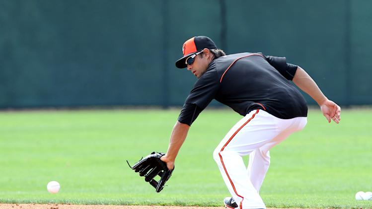 MLB: Baltimore Orioles-Workout