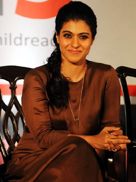 1. Kajol: This mom of a 10-year-old daughter and 3-year-old son is currently at her gorgeous best. She is engaged in various endorsements such as hand wash brands, probiotic and energy drinks and inst