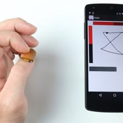 This Tiny Sensor Turns Your Thumbnail Into A Trackpad