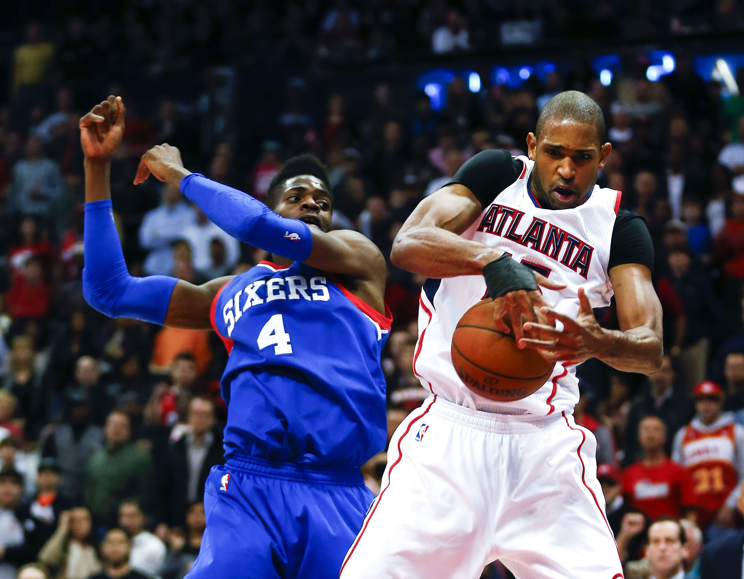 Horford, Hawks extend streak with 91-85 win over 76ers