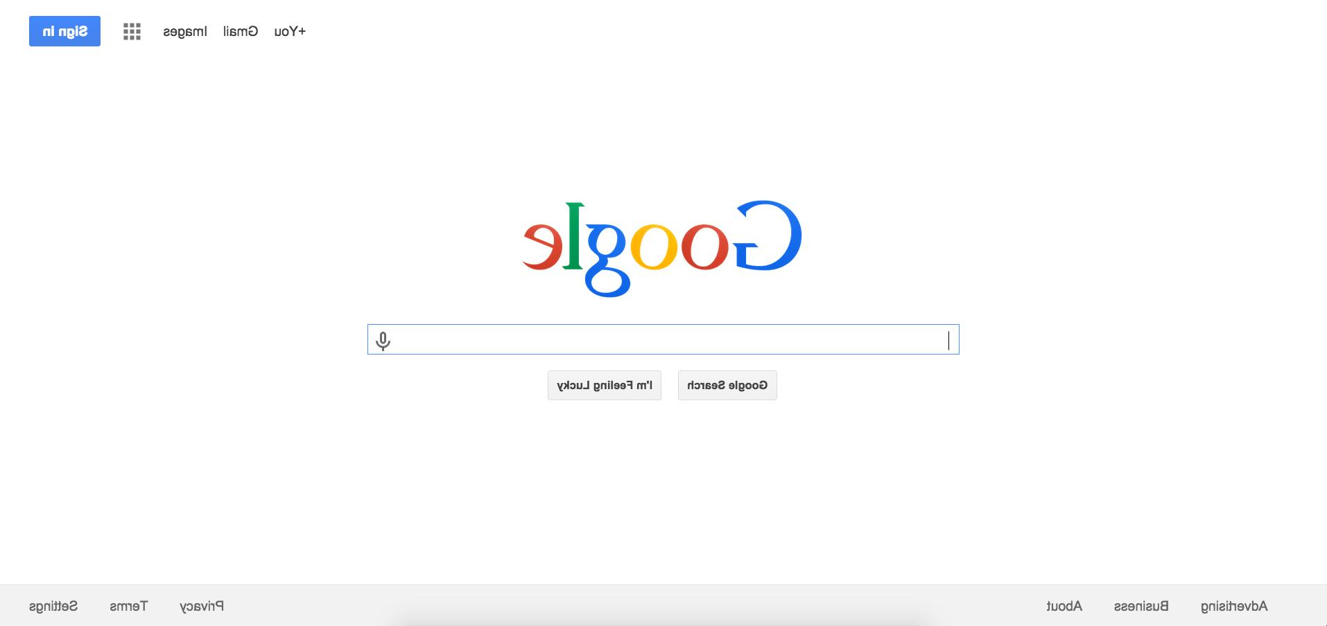 Search Google backwards with this secret April Fools' Day trick
