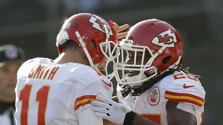Chiefs' Smith building off perfect performance