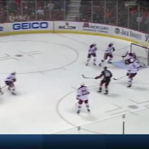 Mike Smith Save on Corey Perry (05:15/1st)