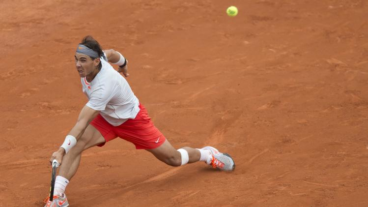 Tennis: French Open-Nadal vs Brands