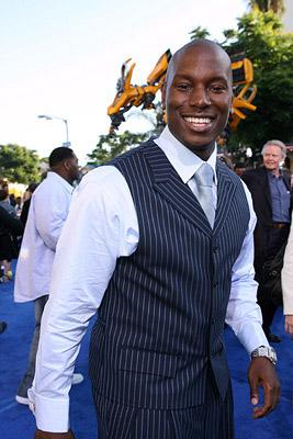 Tyrese Gibson at the Los Angeles premiere of DreamWorks/Paramount Pictures' Transformers