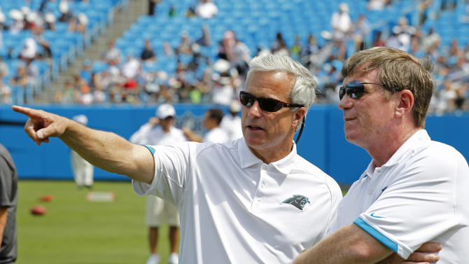 Panthers GM Hurney fired after team's 1-5 start
