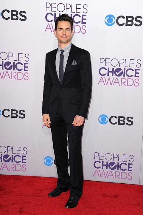BEST: Matt Bomer.  No plain &quot;White Collar&quot; for the People's Choice Awards! The &quot;Magic Mike&quot; star amps up the style factor with a checkered shirt and color-coordinated pocket square.