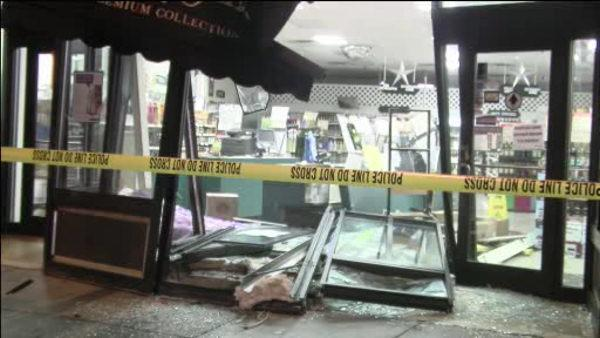 Police: DUI driver crashes into liquor store