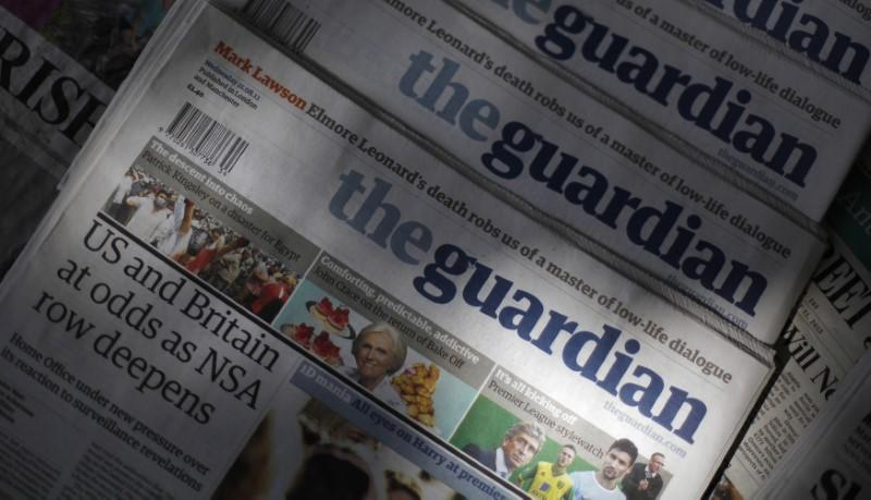 Exclusive: UK's Guardian could go tabloid, switch to rival's presses - sources
