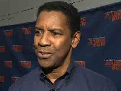 Denzel on Broadway's 'A Raisin in the Sun'