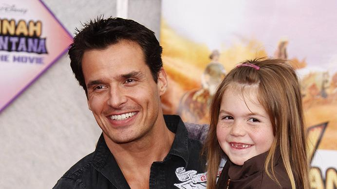 The Hannah Montana Movie LA premiere 2009 Antonio Sabato Jr.