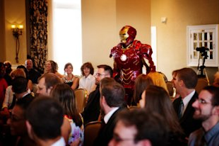 Superheroes Crash Wedding