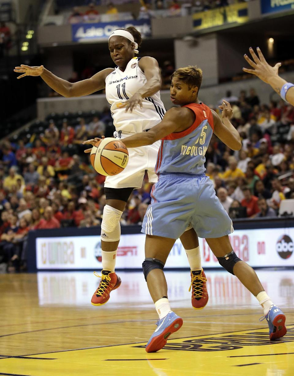 McCoughtry leads Dream to WNBA Finals