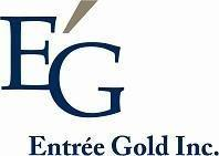 Entree Gold Reports on Third Quarter 2012