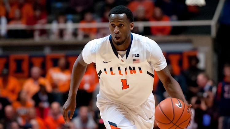 NCAA Basketball: Indiana at Illinois