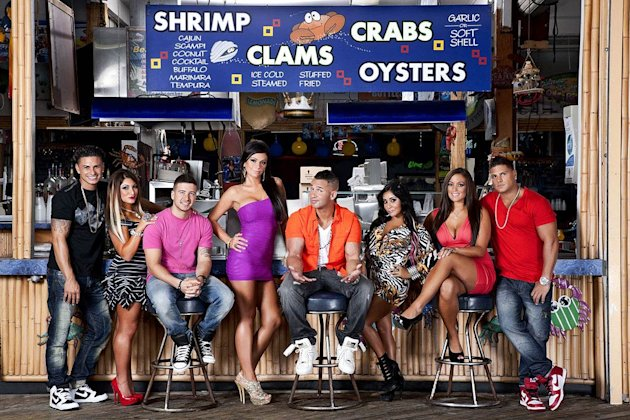 "The cast of ""Jersey Shore."""