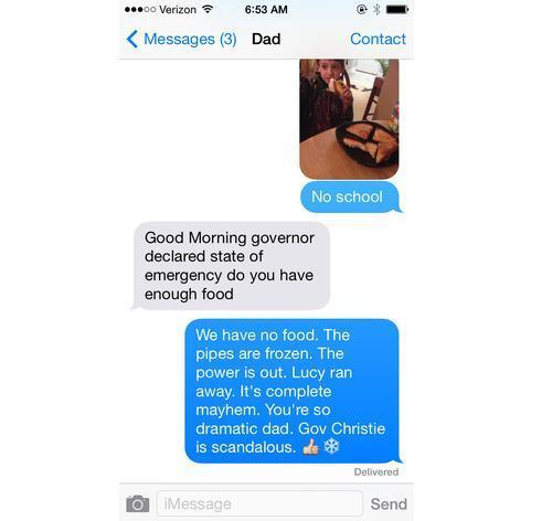 Dad's Text Proves You're Never Too Old to Be a Parent