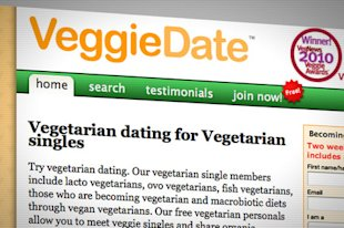 Vegetarian dating for Vegetarian singles.