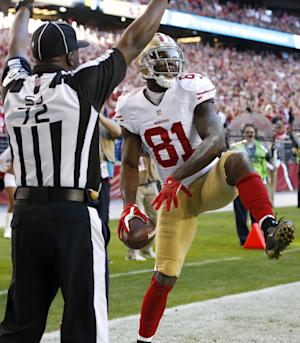 Boldin meets expectations in 1st year with 49ers