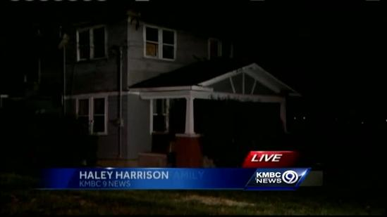 Father, daughter climb to safety in house fire