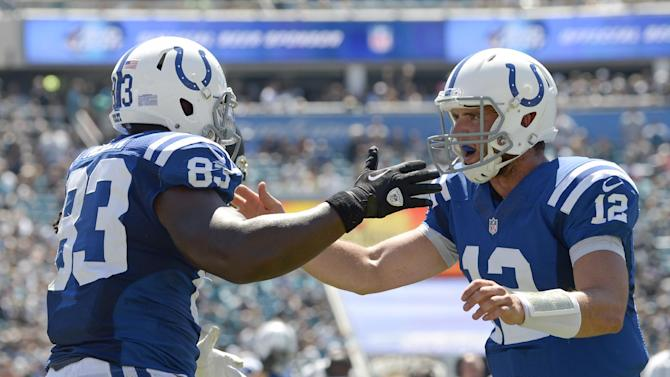 Colts get back on track with 1st win