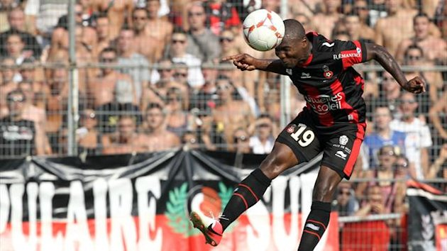 Former Nice forward Franck Dja Djedje scored the winner for Odessa (AFP)