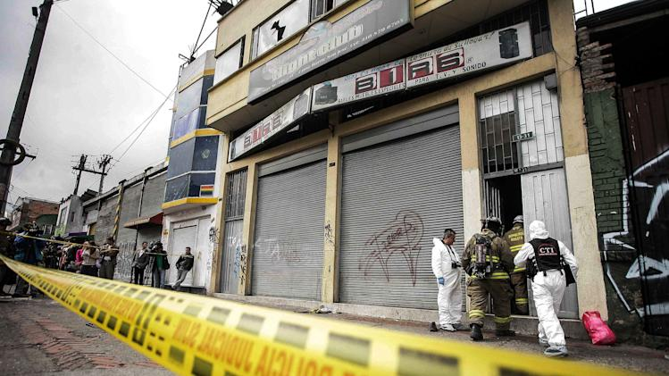 6 die in stampede from Bogota bar raided by police